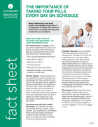 Thumbnail of the PDF version of The Importance of Taking Your Pills Everyday on Schedule