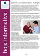Thumbnail of the PDF version of Sobrellevando el mieloma múltiple