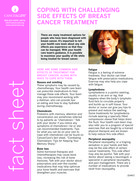 Thumbnail of the PDF version of Coping with Side Effects of Breast Cancer Treatment