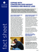 Thumbnail of the PDF version of Coping with Cancer-Related Weight Changes and Muscle Loss