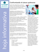 Thumbnail of the PDF version of Confrontando el cáncer pulmonar