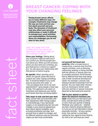 Thumbnail of the PDF version of Breast Cancer: Coping With Your Changing Feelings