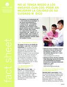 Thumbnail of the PDF version of No le tema a los estudios clínicos