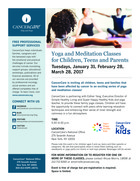 465 yoga and meditation class for children teens and parents