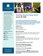 585 healing hearts family bereavement camp