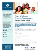 705 worry workshop celebrate your courage