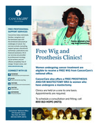 729 breast prosthesis wig clinic