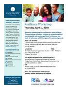 750 resilience workshop