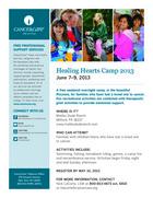 79 healing hearts family bereavement camp