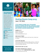 79 healing hearts family bereavement camp