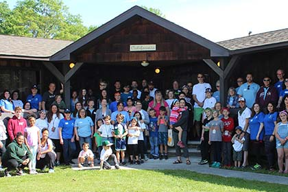 Our Healing Hearts Family Bereavement Camp brings families together for a weekend retreat in Pennsylvania »