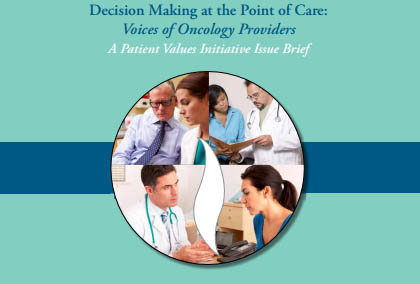 Our Patient Values Initiative is featured in an Oncology Nursing News article. Read more »