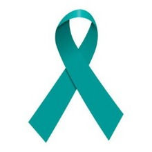 Cervical cancer ribbon