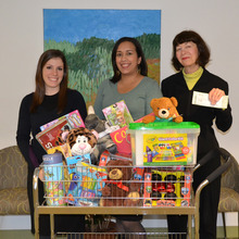 Display photo for Phi Beta Kappa Association of New York Holiday Toy Drive Collects Donated Gifts for Children and Teens Affected by Cancer