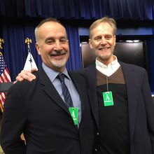 Display photo for CancerCare staff attends White House Meeting
