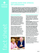Thumbnail of the PDF version of Coping With the Stress of Caregiving