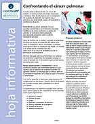 Thumbnail of the PDF version of Confrontando el cáncer pulmonar
