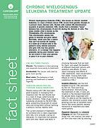 Thumbnail of the PDF version of Chronic Myelogenous Leukemia Treatment Update