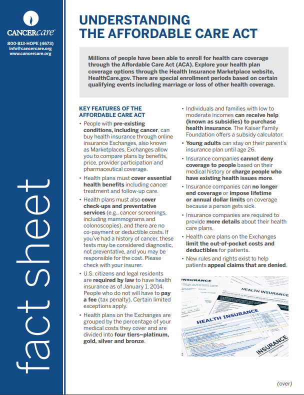 Thumbnail of the PDF version of Understanding the Affordable Care Act