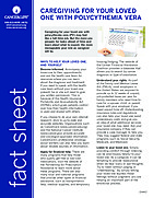 Thumbnail of the PDF version of Caregiving for Your Loved One With Polycythemia Vera (PV)