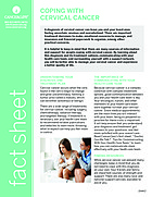 Thumbnail of the PDF version of Coping With Cervical Cancer