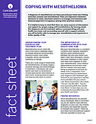 Thumbnail of the PDF version of Coping With Mesothelioma