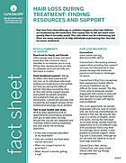 Thumbnail of the PDF version of Hair Loss During Treatment: Finding Resources and Support