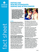 Thumbnail of the PDF version of Dating and New Relationships: During and After Cancer