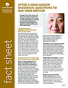 Thumbnail of the PDF version of After a Skin Cancer Diagnosis: Questions to Ask Your Doctor