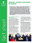 Thumbnail of the PDF version of ¿Por qué unirse a un grupo de apoyo?