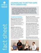Thumbnail of the PDF version of Counseling to Better Cope With Caregiving