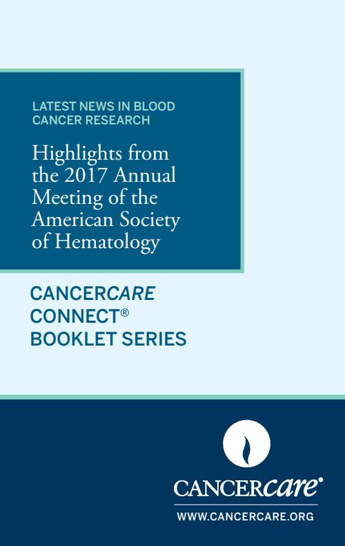 Thumbnail of the PDF version of Latest News in Blood Cancer Research: Highlights From the 2017 Annual Meeting of the American Society of Hematology