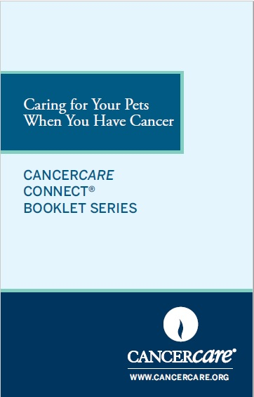 Thumbnail of the flipbook version of Caring for Your Pets When You Have Cancer