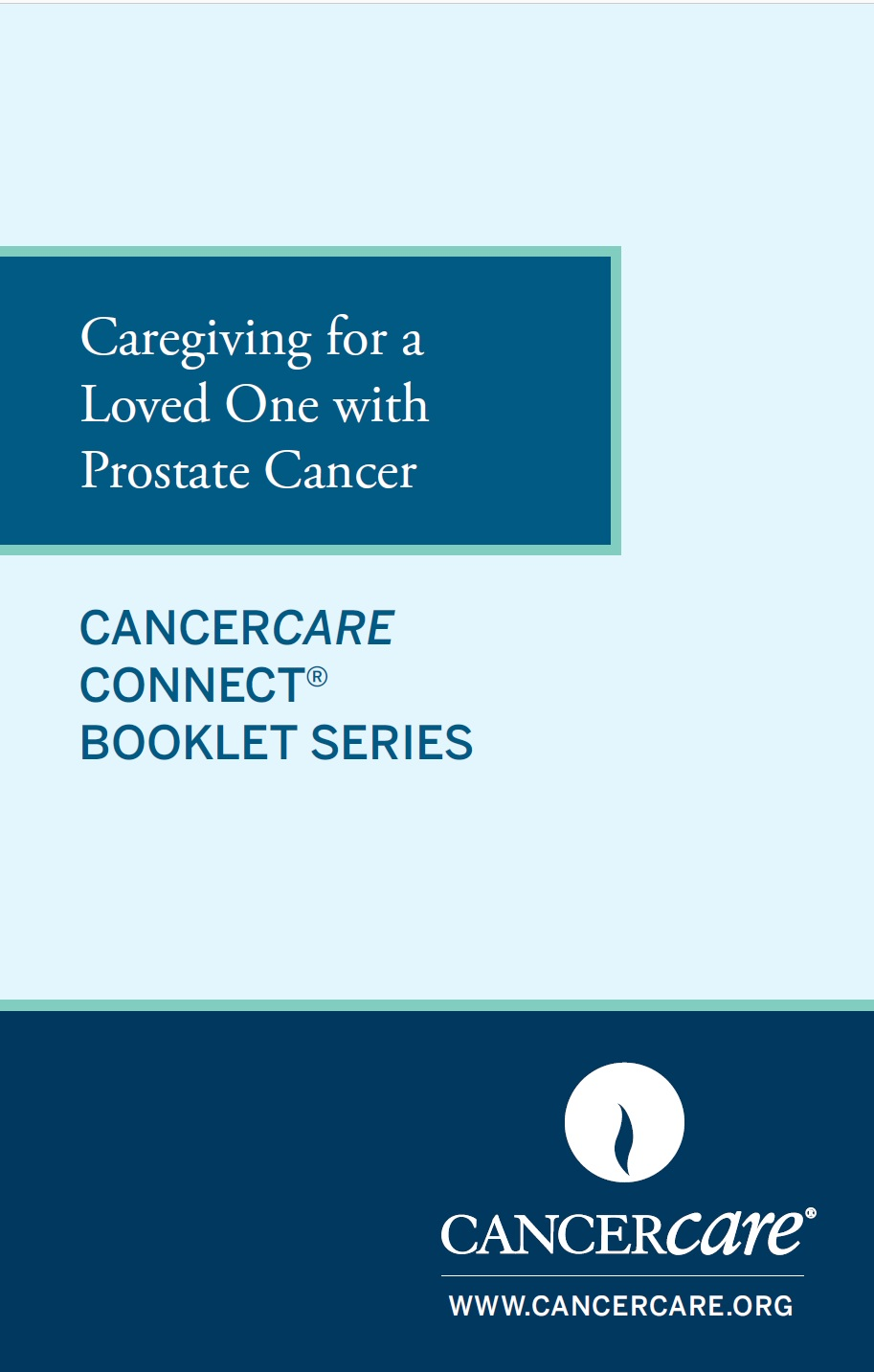 Thumbnail of the PDF version of Caregiving for a Loved One With Prostate Cancer