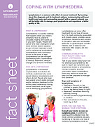 Thumbnail of the PDF version of Coping With Lymphedema