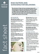 Thumbnail of the PDF version of Risk Factors and Screening for Melanoma
