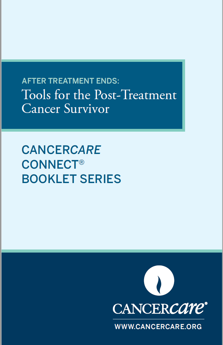 Thumbnail of the PDF version of After Treatment Ends: Tools for the Post-Treatment Cancer Survivor