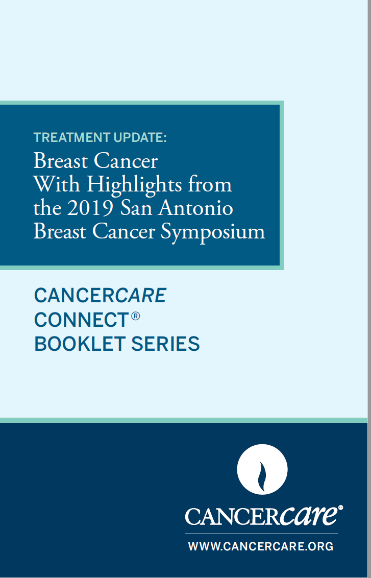 Thumbnail of the PDF version of Treatment Update: Breast Cancer With Highlights From the 2019 San Antonio Breast Cancer Symposium