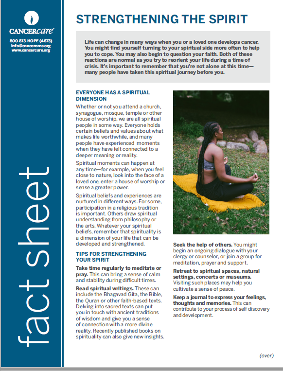 Thumbnail of the PDF version of Strengthening the Spirit