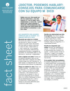 Thumbnail of the PDF version of ¿Doctor, podemos hablar?: Consejos para comunicarse con su médico
