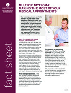 Thumbnail of the PDF version of Multiple Myeloma: Making the Most of Your Medical Appointments