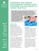 Thumbnail of the PDF version of Adherence and CML: Overcome the Challenges to Taking Your Pills