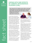 Thumbnail of the PDF version of Coping With Side Effects of Chronic Myelogenous Leukemia (CML)