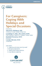 Thumbnail of the PDF version of For Caregivers: Coping With Holidays and Special Occasions