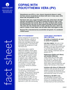 Thumbnail of the PDF version of Coping With Polycythemia Vera (PV)