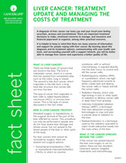 Thumbnail of the PDF version of Liver Cancer: Treatment Update and Managing the Costs of Treatment
