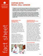 Thumbnail of the PDF version of Coping With Renal Cell Cancer