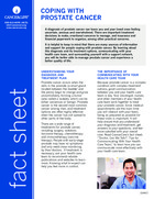 Thumbnail of the PDF version of Coping With Prostate Cancer