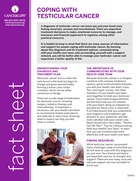 Thumbnail of the PDF version of Coping With Testicular Cancer