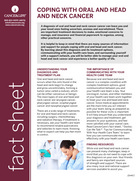 Thumbnail of the PDF version of Coping With Oral and Head and Neck Cancer